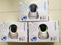 High Quality Mini Remote Rotate Pan Tilt Wifi Webcam IP Camera HD With IR-Cut CE FCC W9