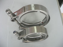 3 inch quick release stainless steel V band exhaust clamp