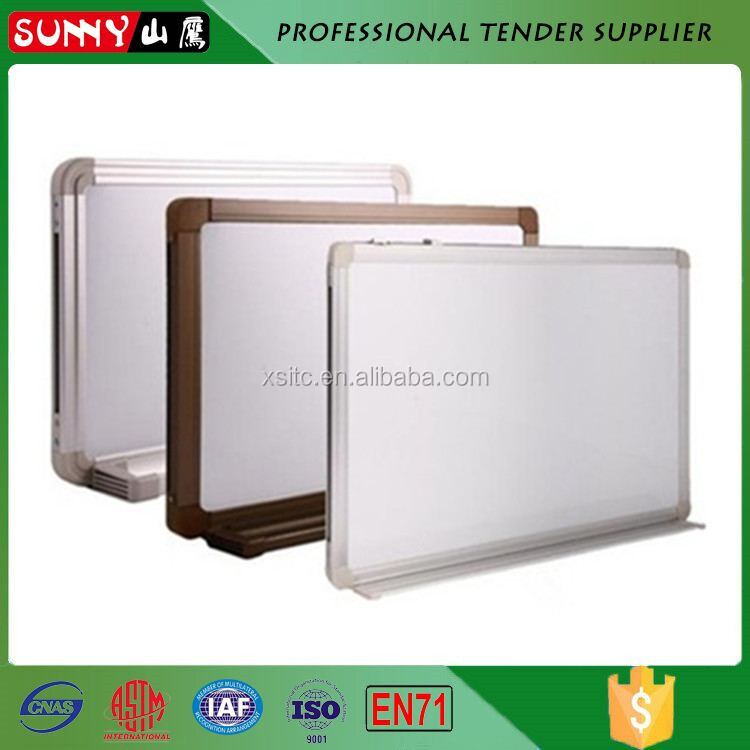high quality big and small write white board