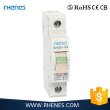 CE approved 1P 2P 3P 4P 230V/400V 25A~63A DIN rail smart electric circuit breaker switch