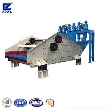 high frequency linear vibrating screen GP type