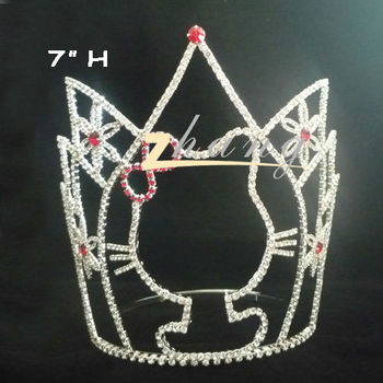 Cute car design beauty pageant crown