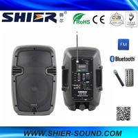 High Quality SHIER CE Certificate Waterproof AK8-302 Bluetooth Surround Sound Speaker With Recording