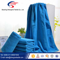hot sale waffle style solid color nylon bath towel