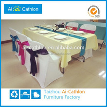 foldable tables and chairs for catering used,plastic stable folding catering table set