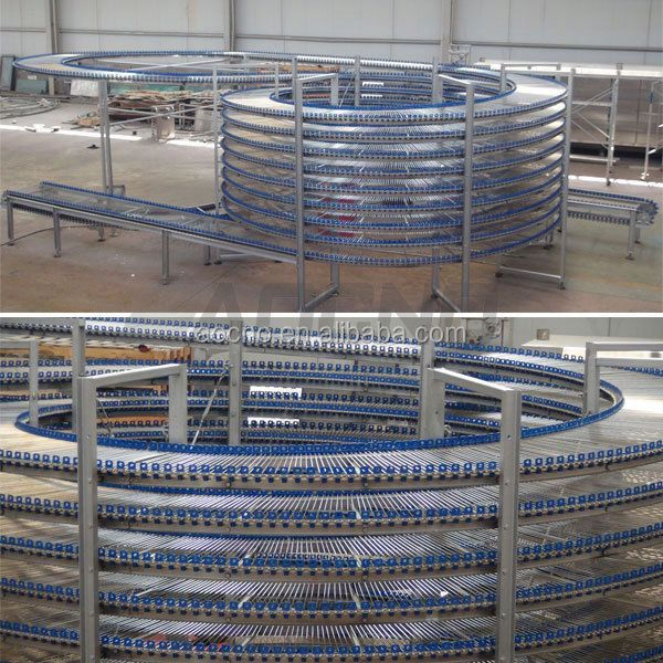 spiral cooling tower cooler batter and bread machine