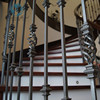 decorative railing indoor stair railings cheap wrought iron fence
