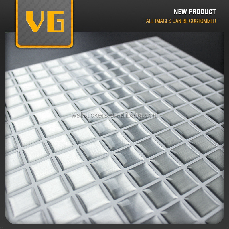 Competitive price new arrival removable decorative adhesive corridor wall tile