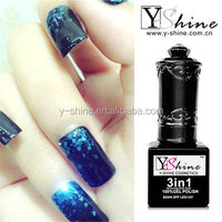 OEM soak off gel two step gel polish led uv nail polish