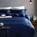 Stone washed pure flax linen bedding sets, duvet cover sets