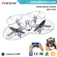 Top rc fly mini aircraft 2.4G 4CH fpv small quadcopter toy with 6 axis of gyroscope