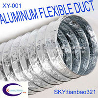 "ALUMINUM FLEXIBLE KITCHEN EXHAUST VENTILATION DUCTING 6""8'(AVAILABLE INVENTOR, 7 YEAR EXPERIENCE IN PRODUCTION AND PROCESSING)"