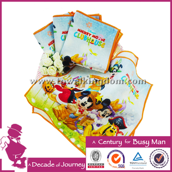 hot special customized lovely digital printed cartoon hand towel low moq 100% cotton soft and comfortable