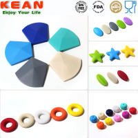 Silicone Beads/BPA Free Food Grade Soft Teething Beads For Jewelry Mixed Wholesale Silicone Beads