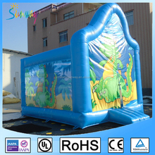Cheap Bounce Houses Baby Jumpers and Bouncers Indoor Inflatable Dragon Bouncers for Kids