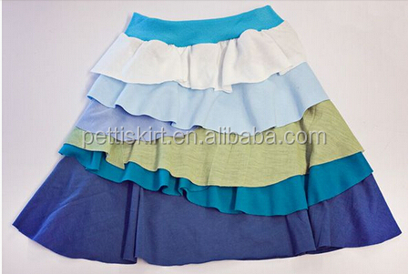 New Girls Boutique Cotton Skirts Spring Skirt For Girls