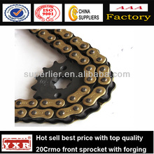 China manufacturer motorcycle spare parts ybr125 motorcycle sprocket