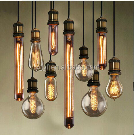 Edison style incandescent lamp with cable egyptian style lamps
