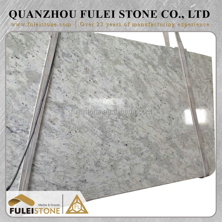 Chinese popular cheap andromeda white granite slabs