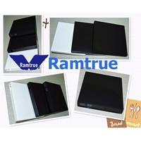 black Aluminum pull color USB 3.0 external DVD drive / external USB DVD DVDRW CD / RW