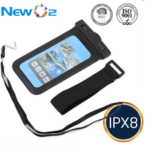 New PVC and ABS material waterproof mobile bag sport armband for all smart phones