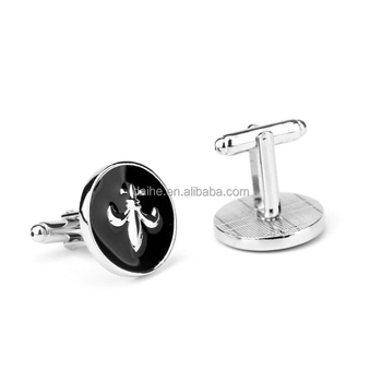 Daihe Cheap fleur de lis cufflinks for men