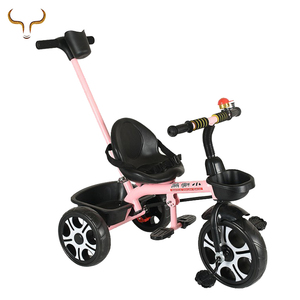 China professional manufacturer kids ride toy 3 wheels tricycle baby with child seat