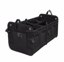 Multifunction and Heavy Duty Car Trunk Organizer with Customied branded LOGO
