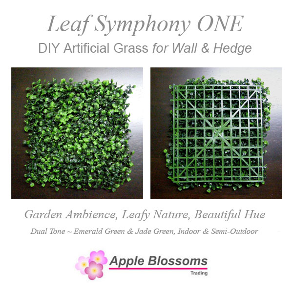DIY Artificial Grass (Wall & Hedge) ~ Leaf Symphony ONE