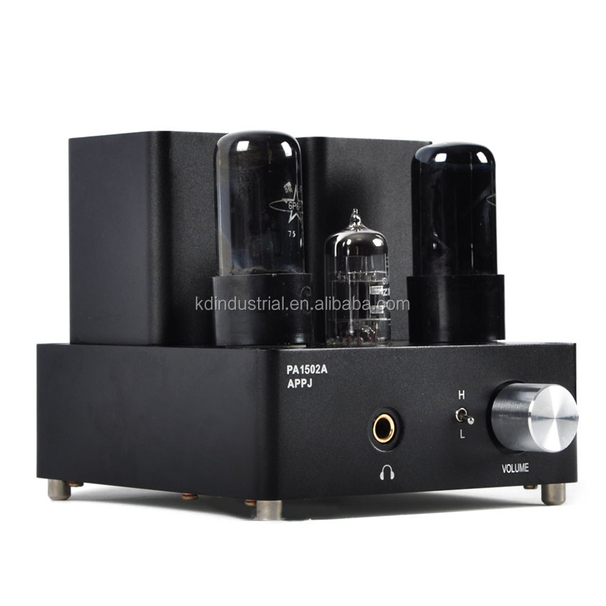 Mini 6P6P Valve Tube Headphone Amplifier Audio High current HiFi Stereo Amp