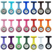 More color Nurse Watch Silicone zinc alloy dial and Iron Chinese movement cheaper price 639513