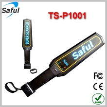 Saful Wholesale handheld security metal detector Sound mode portable security scanner TS--P1001 sale metal detector in dubai