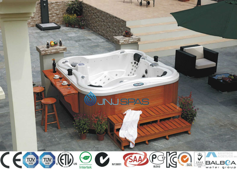 6Person Spa Pool Butterfly Outdoor Spa Versatile Outdoor Whirlpool from Manufacturer JNJ SPAS