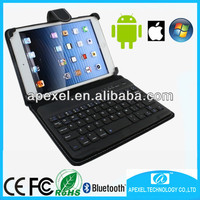 7''-10.1'' tablet cover case with bluetooth keyboard for IOS Windows android MID,tablet bluetooth keyboard with stand cover