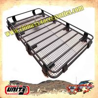 high quality 4x4 Car Roof Luggage Rack aluminum alloy steel roof rack uaz 4x4