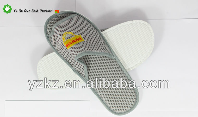 2014 Chinese Summer Breathing freely Mesh Slippers for mens