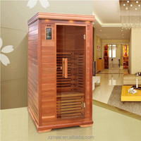One person hot tub , oxygen ionizer far infrared sauna cabin