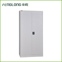cheap factory direct double door filing cabinet fenglong modular storage used metal file cabinet with high quality
