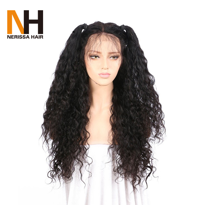 Natural Looking Grade 8A Brazilian Virgin Real Human Hair Lace Front Wigs Afro Kinky Curl