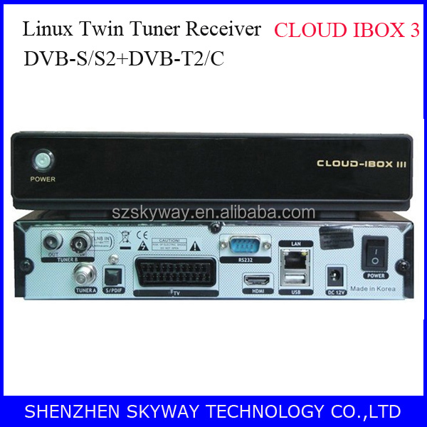 CLOUD IBOX 3 Linux Satellite Receiver