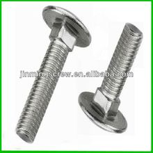 ISO8678 Chrome plated Truss head square neck Carriage bolt
