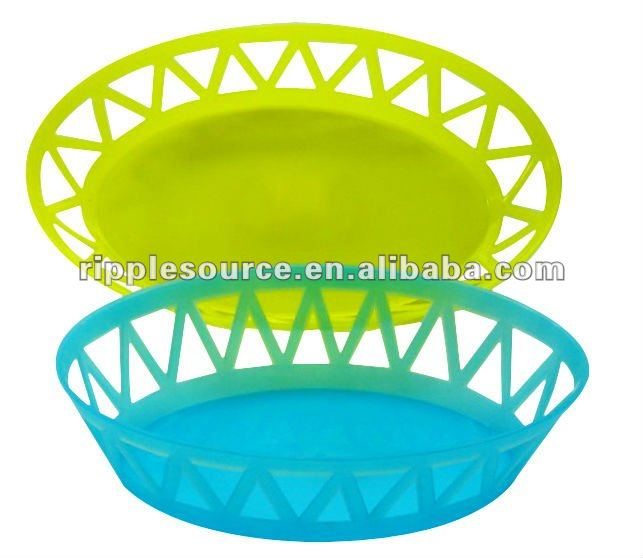 PP Plastic Bread and Fruit Basket