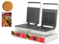 Factory price Double waffle maker/liege waffle maker/snack waffle machine