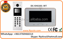 Original English Hikvision 8CH Alarm Video Intercom With Door Release