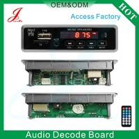 wholesale dab circuit board with TF USB led aux and DC 12v or 5v