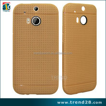Wholesale waterproof mesh tpu case for HTC ONE 8