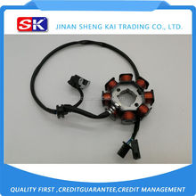Low price hot sell motorcycle magneto stator for haojue