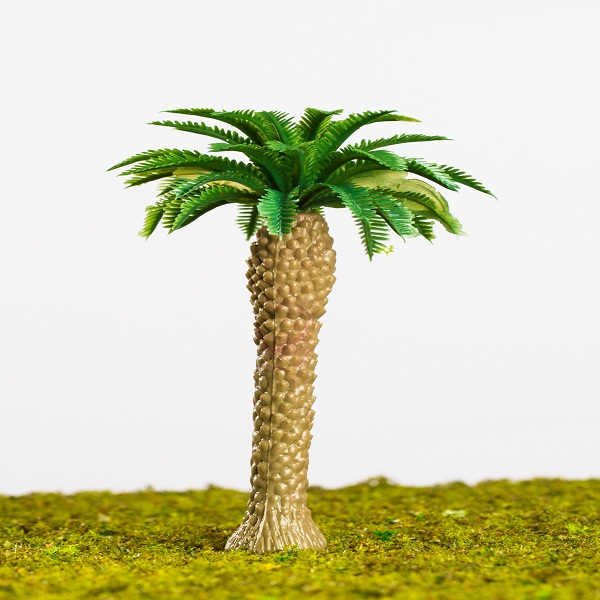 Artificial mini palm trees model for architectural scale model layout/scene layout (Z002)