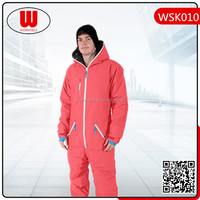 Winter coverall ski clothing plus size