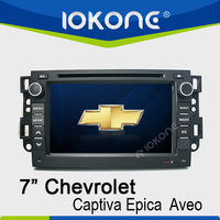 7inch 2din in dash touch screen car dvd for captiva with gps ipod bluetooth phone book